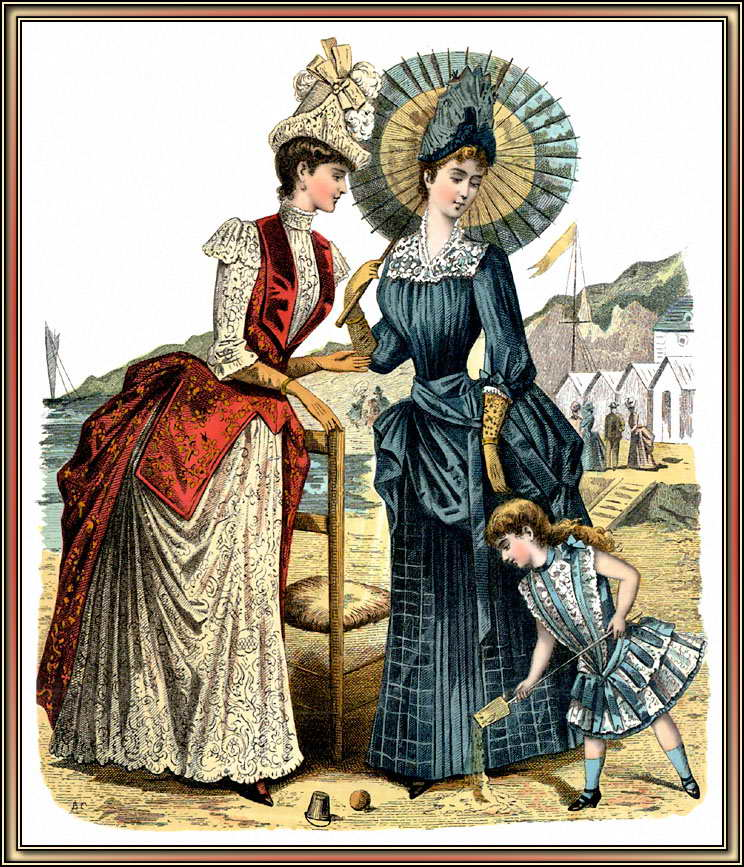 维多利亚时代-维多利亚时期贵族服饰